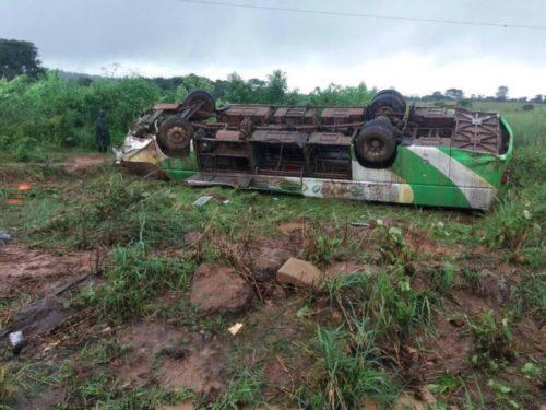 RDC : Un camion chargé d'acide fait au moins 18 morts