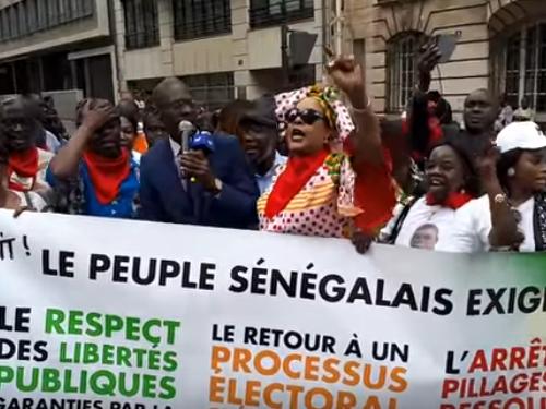 Manifestation : Paris réclame un 2eme tour