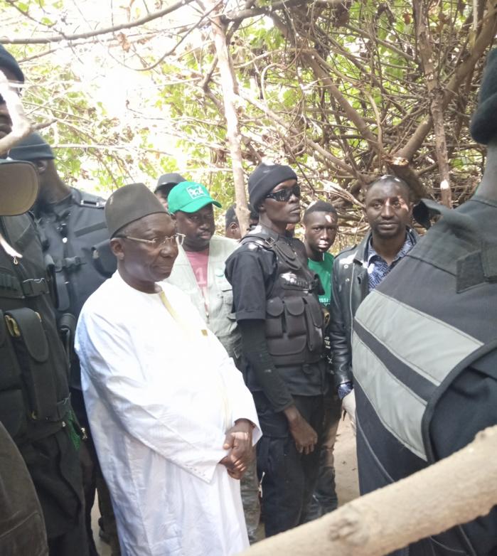 Kolda : Les forces de l'ordre bloquent Issa SALL pour Macky