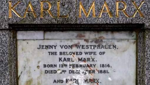 Londres : La tombe de Karl Marx vandalisée