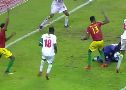 Les «Lions» olympiques s'inclinent en Guinée