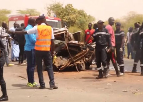 Louga: Un accident fait 5 morts