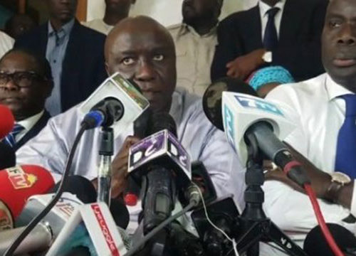 Rapport de la « Coalition Idy-2019 » sur la Présidentielle : Macky délégitimé
