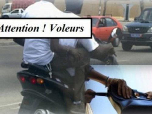Scootéristes-agresseurs   : 3 individus interpellés en possession de sacs à main pour femme
