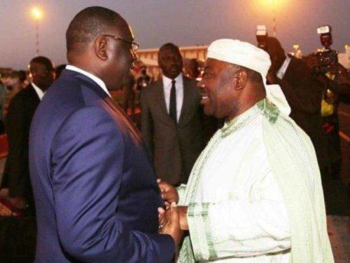 Gabon : Macky rend visite Ali Bongo en convalescence