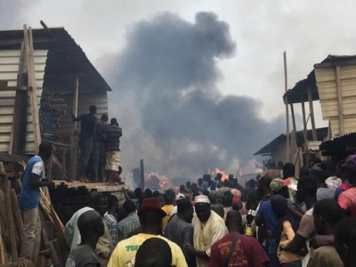 Incendie au marché zinc de Kaolack : Mariama SARR pointée du doigt