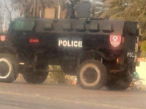 Rassemblement à la Place de l'Obélisque : La Police déjà sur place