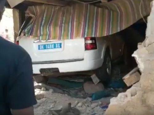 Accident sur la corniche : le chauffeur s'est laissé guider par le véhicule