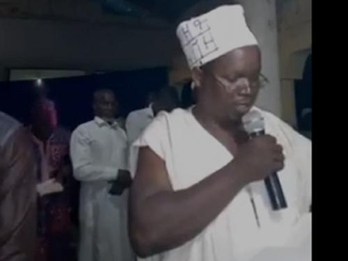 L'imam Nanfo Ismaila DIABY  suspendu de toutes ses activités religieuses, interdit de prêche et d'interprétation du Coran