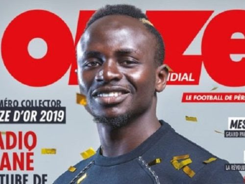 Sadio MANE remporte le « Onze d'Or 2019 »