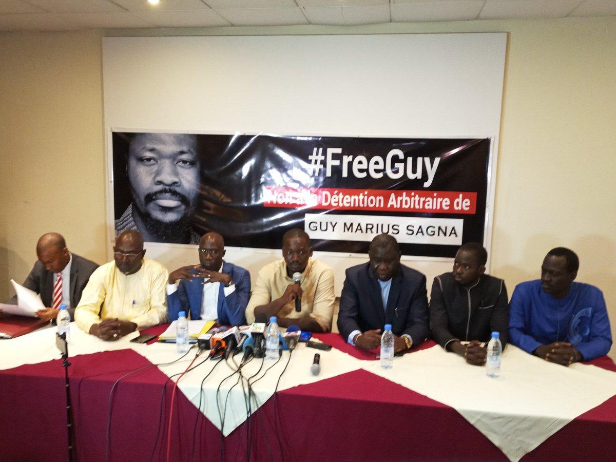 FDS et FRAPP exigent la libération d'Abdou Karim GUEYE