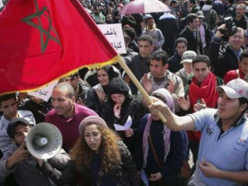 Maroc : manif' à Rabat contre Oxfam