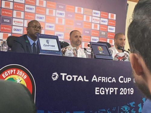 Belmadi : «On est à 200% prêts pour la finale»