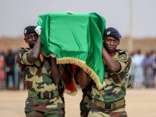 Cérémonie funèbre : la Gendarmerie rend hommage à Tamsir SANE, inhumé à Yoff