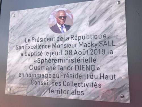 Hommage : Tanor premier et dernier président du HCCT ?