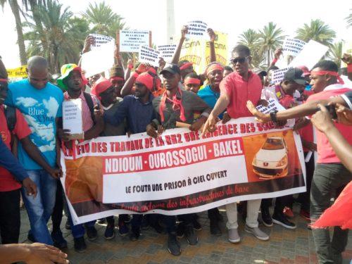 Réhabilitation de la RN2: Les jeunes du Fouta entrent en rébellion