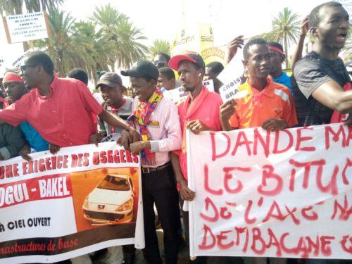 Les populations de Ourossogui dans les rues :  «Nous sommes morts, Dieu au secours»