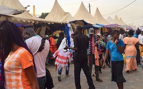 Le marché HLM dans l'ambiance  de la Tabaski. REPORTAGE