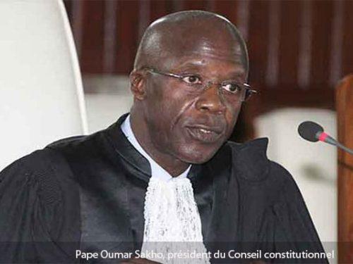 Conseil Constitutionnel: Abdoul MBAYE récuse Pape Oumar SAKHO et réclame la nomination d'un nouveau Président