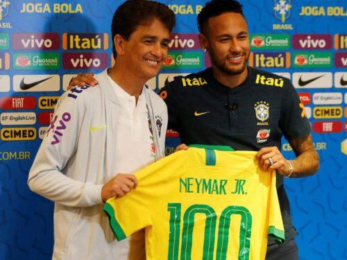 Neymar jouera son 100ème match avec le Brésil contre les Lions, ce jeudi