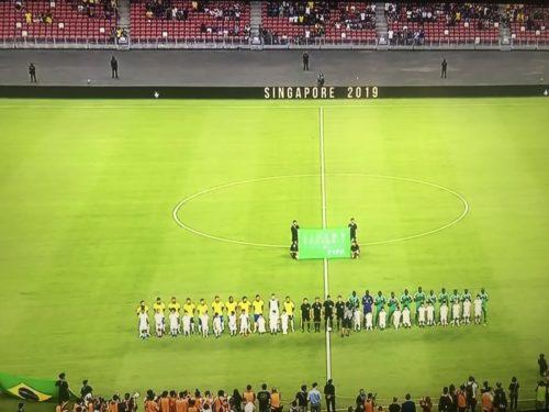 Brésil vs Sénégal , c'est parti