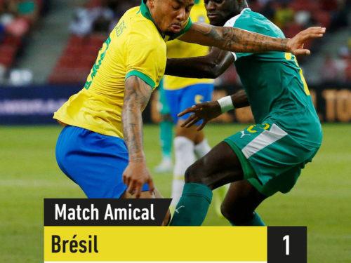 Brésil 1-1 Sénégal :  Les «Lions » tiennent le choc (le résumé)