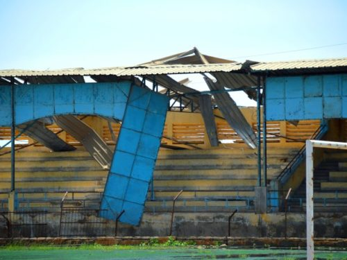 Saint-Louis: le Stade Me Babacar SEYE devenu un dépotoir d'ordures