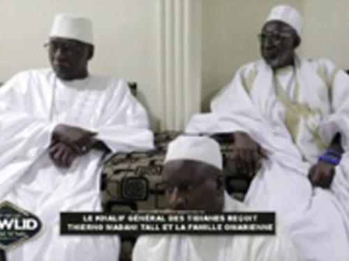 Tivaouane : Visite de Thierno Madani TALL à Serigne Babacar SY Mansour