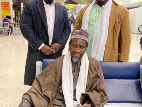 Cheikh Mouhamadou Mahy CISSÉ entre les USA et le Nigéria (photos)