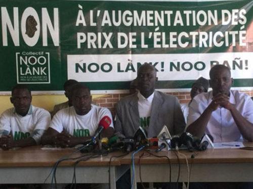 HAUSSE DU PRIX DE L'ELECTRICITE… «Noo Lank» sur le terrain judiciaire