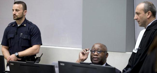 CPI: Laurent Gbagbo plaide non coupable à l'ouverture du procès