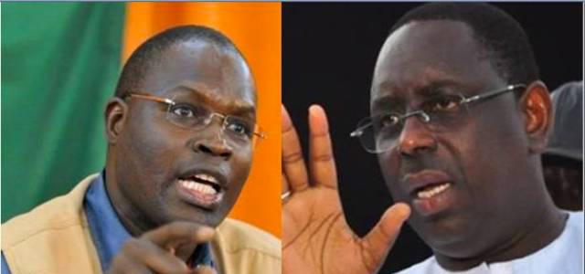 La bataille réservée entre Macky et Khalifa