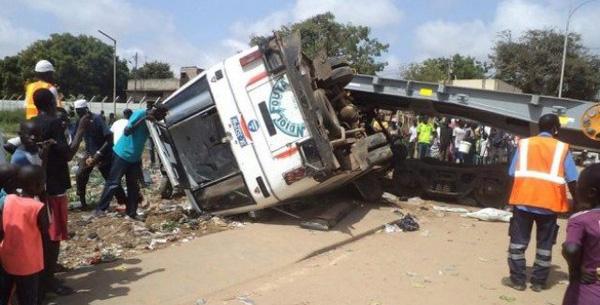 Fatick : Un bus dérape, cinq morts, plusieurs blessés