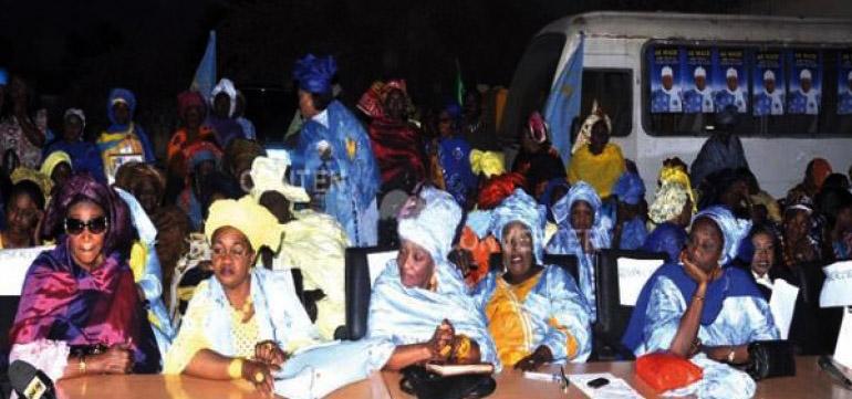 Les Femmes du Pds tout feu tout flamme contre le régime de Macky Sall