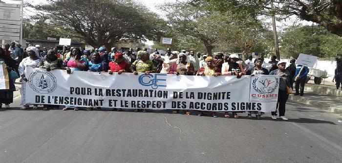 SALAIRES, LOGEMENTS, INDEMNITES…: Le CUSEMS dépose un préavis de grève