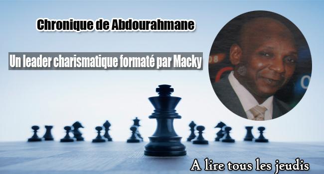 Un leader charismatique formaté par Macky