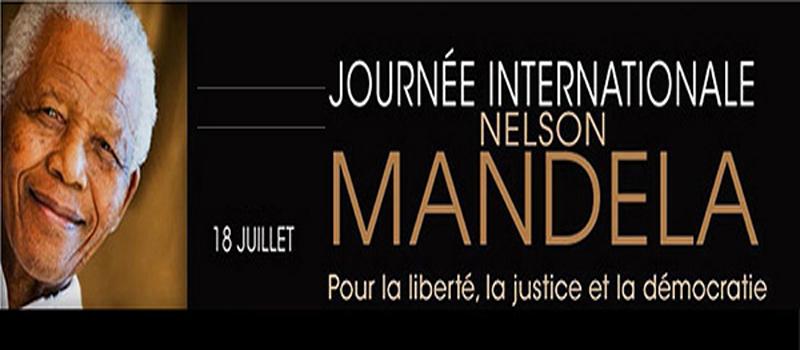 Début des festivités de la journée internationale Nelson Mandela à partir de vendredi
