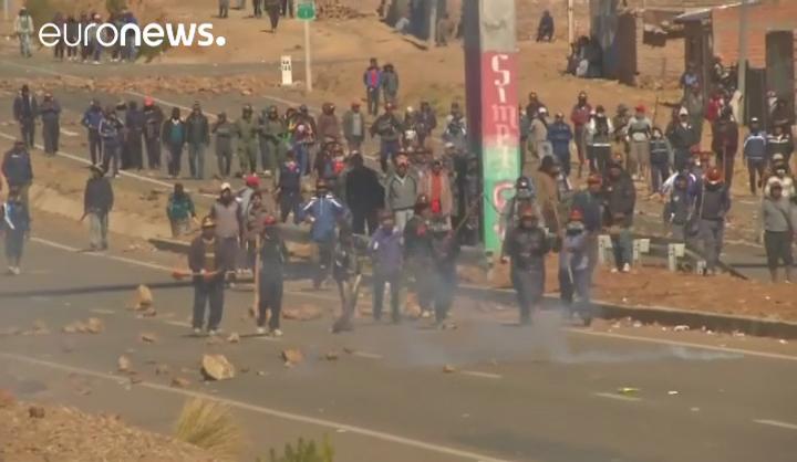 Bolivie : un ministre séquestré et battu à mort par des manifestants (vidéo)