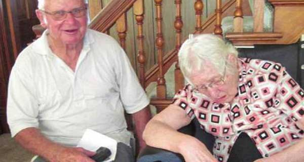 Mariés pendant 63 ans, ils meurent à 20 minutes d'écart