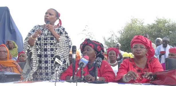 Affaire Aïda NDIONGUE : Les femmes du PDS demandent l'annulation de la «décision illégale et dangereuse »