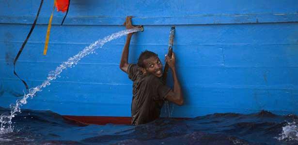 Immigration : 6500 personnes secourues au large de la Libye