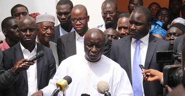 Thierno BOCOUM retourne AGIR chez Idy