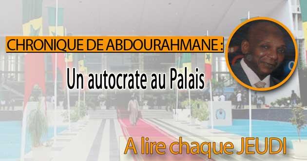 Un autocrate au Palais