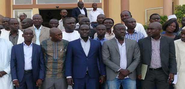 La coalition Wattu Sénégal en conclave