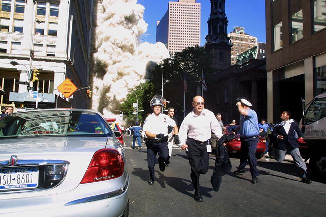 Il y a quinze ans, New York partait en fumée