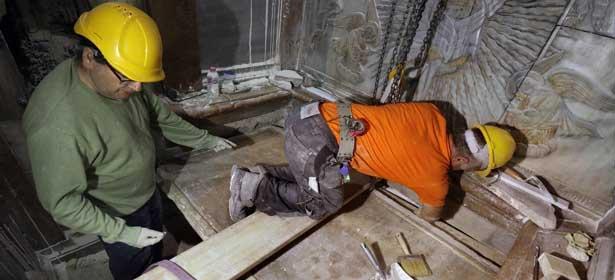 La tombe de Jésus ouverte pour la première fois depuis 2 siècles