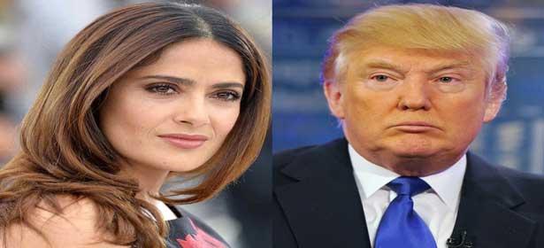 Salma Hayek raconte sa mésaventure avec Donald Trump