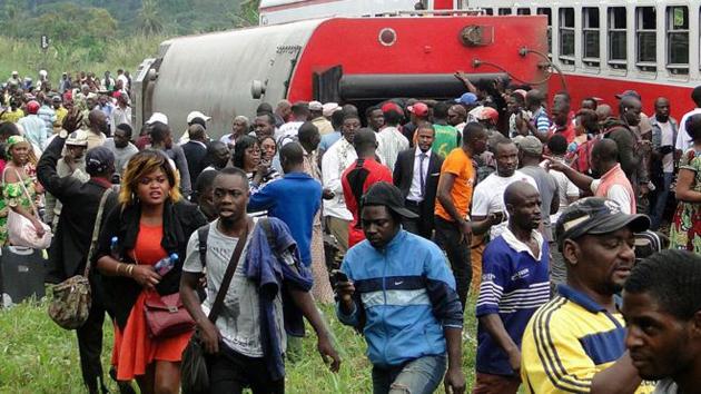Cameroun : le déraillement d'un train fait  une cinquantaine de morts