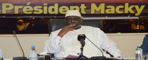Macky SALL : «Le plus important, c'est de gagner les Législatives »