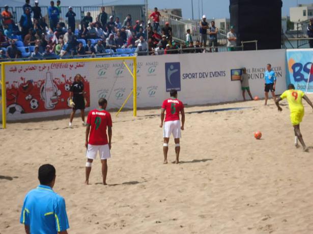 CAN 2016 beach soccer: et de trois, le Sénégal écrase la Lybie 10-2